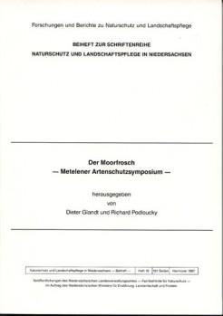 Der Moorfrosch: Metelener Artenschutzsymposium