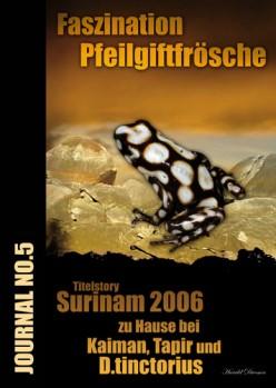 Faszination Pfeilgiftfrösche Journal No. 5