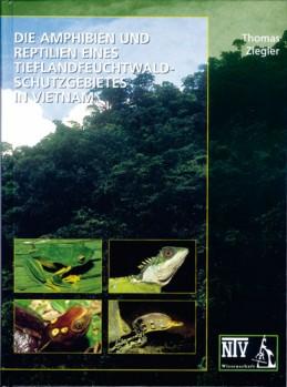 Amphibien und Reptilien eines Tieflandregenwald Schutzgebietes in Vietnam