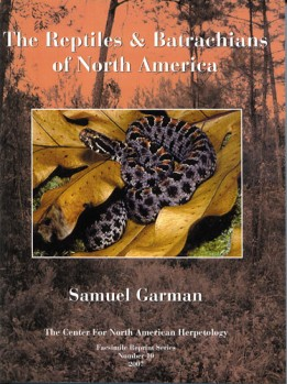 The Reptiles & Batrachians of North America