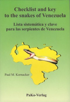 Checklist and Key to the Snakes of Venezuela