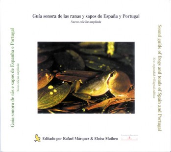 CD Sound Guide to Frogs and Toads of Spain and Portugal