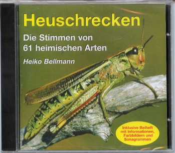 CD Heuschrecken - Die Stimmen von 61 heimischen Arten