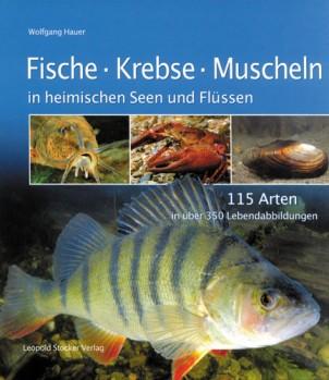 Fische Krebse Muscheln in heimischen Seen und Flüssen