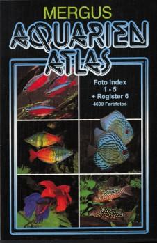 Aquarienatlas Foto-Index 1-5 + Register 6