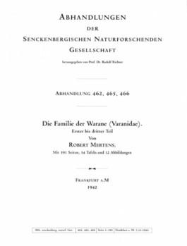 Familie der Warane (Teil 1 - 3)