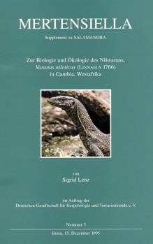LENZ, S. Zur Biologie und Ökologie des Nilwarans, Varanus niloticus (Linnaeus 1966) in Gambia, Westafrika