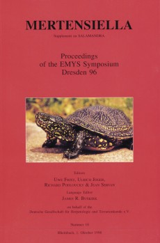 FRITZ, U., JOGER, U., PODLOUCKY, R., SERVAN, J. Proceedings of the EMYS Symposium Dresden 96