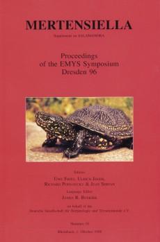 FRITZ, U., JOGER, U., PODLOUCKY, R., SERVAN, J. Proceedings of the EMYS Symposium Dresden 96