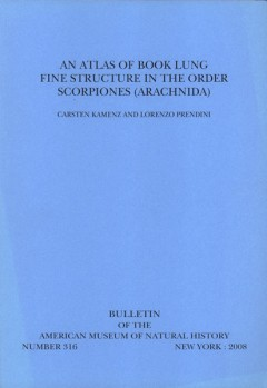 An Atlas of Book Lung Fine Structure in the Order Scorpiones