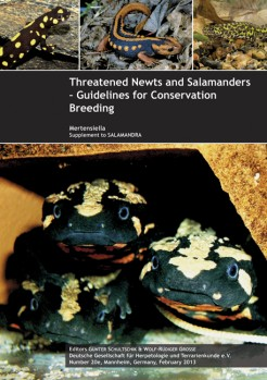 Threatened Newts and Salamanders of the World - Captive Care Management