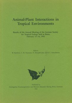 Animal-Plant Interactions in Tropical Environments