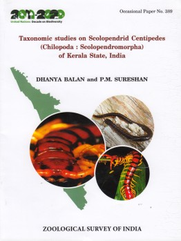 Taxonomic studies on Scolopendrid Centipes of Kerala State, India