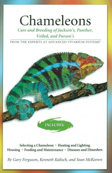 Care and Breeding of Panther, Jackson's, Veiled and Parson's Chameleons