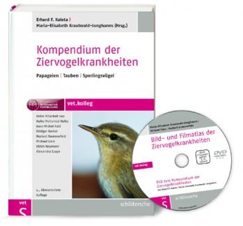 Kompendium der Ziervogelkrankheiten, m. DVD-ROM.