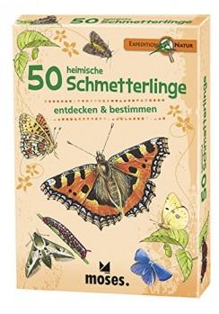 50 heimische Schmetterlinge entdecken & bestimmen