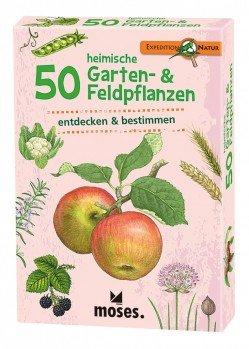 50 heimische Garten- & Feldpflanzen entdecken & bestimmen