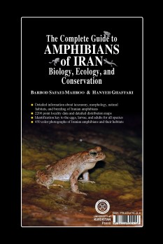 The Complete Guide to Amphibians of Iran – Biology, Ecology, and Conservation