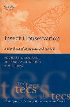 Insect Conservation – A Handbook of Approaches and Methods