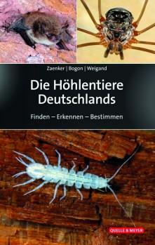 Die Höhlentiere Deutschlands – Finden – Erkennen – Bestimmen