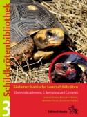 Schildkrötenbibliothek 3 Südamerikanische Landschildkröten. Chelonoidis carbonaria, C. denticulata und C. chilensis