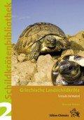 Schildkrötenbibliothek 2 Griechische Landschildkröte. Testudo hermanni, T. boettgeri und  T. hercegovinensis
