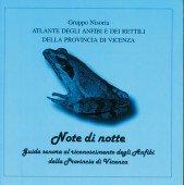 CD Note di notte Guide sonora al riconoscimento degli Anfibi della Provincia di Vicenza