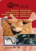 Terralog 16 Giftschlangen Europas, West, Zentral- und Nordasiens