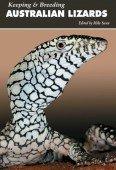 Keeping and Breeding Australian Lizards