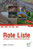 Rote Liste gefährdeter Tiere, Pflanzen und Pilze Deutschlands .   Bd.1 Wirbeltiere