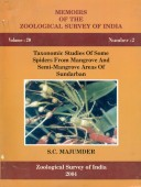 Taxonomic Studies of some Spiders from mangrove and semi-mangrove areas of Sundarban