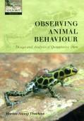 Observing Animal Behavior – Design and Analysis of Quantitative Data