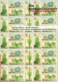 Spitze Zähne - Bunte Dornen. Kakteen  und andere Sukkulenten auf Briefmarken