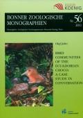 Bird Communities of the Ecuadorian Choco: A Case Study in Conversation