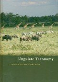 Ungulate Taxonomy