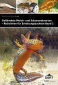 Gefährdete Molch- und Salamanderarten – Richtlinien für Erhaltungszuchten Band 2