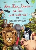 Löwe, Hase, Schwein – ein Tier passt nicht rein! Mein Riesen-Such-Wimmelbuch