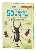 50 heimische Insekten & Spinnen entdecken & bestimmen