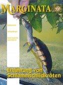 Heft 54 Ernährung von Schlammschildkröten