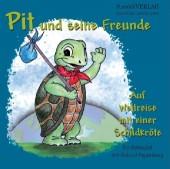 Pit und seine Freunde – Auf Weltreise mit einer Schildkröte. Ein Ratespiel