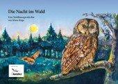 Die Nacht im Wald. Eine Waldkauzgeschichte
