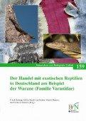Der Handel mit exotischen Reptilien in Deutschland am Beispiel der Warane (Familie Varanidae)
