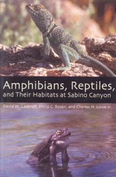 Amphibians, Reptiles and Their Habitats at Sabino Canyon