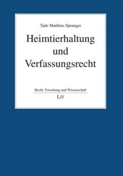 Heimtierhaltung und Verfassungsrecht