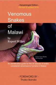 Venomous Snakes of Malawi – An identificaton guide for the 20 species of snakes considered venomous to humans in Malawi