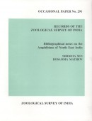Bibliographical notes on the Amphibians of North East India
